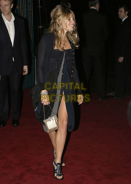 SIENNA MILLER.The London Party, The Wallace Collection, Hertford House, Manchester Square, London, February 11th 2005..full length .Ref: AH.www.capitalpictures.com.sales@capitalpictures.com.©Capital Pictures.
