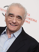 Il regista statunitense Martin Scorsese posa durante il photocall per la presentazione del suo film 'Irishman' alla 14^ Festa del Cinema di Roma all'Aufditorium Parco della Musica di Roma, 21 ottobre 2019.<br /> US director Martin Scorsese poses for the photocall to present the movie 'Irishman' during the 14^ Rome Film Fest at Rome's Auditorium, on 21 October 2019.<br /> UPDATE IMAGES PRESS/Isabella Bonotto