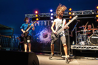 Northlane performing at Soundwave Festival 2013, Flemington Racecouse, Melbourne, 1 March 2013