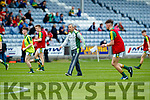 Peter Keane Manager  Kerry against  Louth in the All Ireland Minor Football Quarter Finals at O'Moore Park, Portlaoise on Saturday.