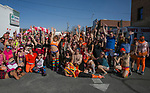 A photograph taken during the Cupid's Undie Run to benefit Neurofibromatosis in Reno, Nev., Saturday, Feb. 8, 2020.
