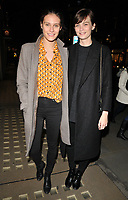 Charlotte Wiggins and Lara Mullen at the Danielle Copperman's &quot;Well Being&quot;  book launch party, Lululemon, Regent Street, London, England, UK, on Thursday 11 January 2018.<br /> CAP/CAN<br /> &copy;CAN/Capital Pictures