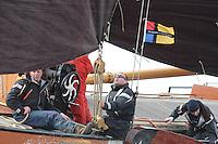 ZEILEN: LANGWEER: Sk&ucirc;tsjesilen 130413,<br /> &copy;foto Martin de Jong
