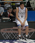 Real Madrid's Carlos Suarez during ACB Supercup Semifinal match.September 24,2010. (ALTERPHOTOS/Acero)