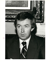 Joe Clark<br /> , le 6 mars 1979<br /> <br /> <br /> PHOTO : agence quebec presse