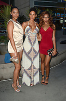 HOLLYWOOD, CA - JULY 25: Bria Murphy, Nicole Murphy and Shayne Murphy at the Premiere Of Cinedigm's 'Amateur Night' at ArcLight Hollywood on July 25, 2016 in Hollywood, California. Credit: David Edwards/MediaPunch