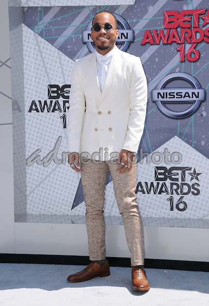 26 June 2016 - Los Angeles. Anderson Peck. Arrivals for the 2016 BET Awards held at the Microsoft Theater. Photo Credit: Birdie Thompson/AdMedia