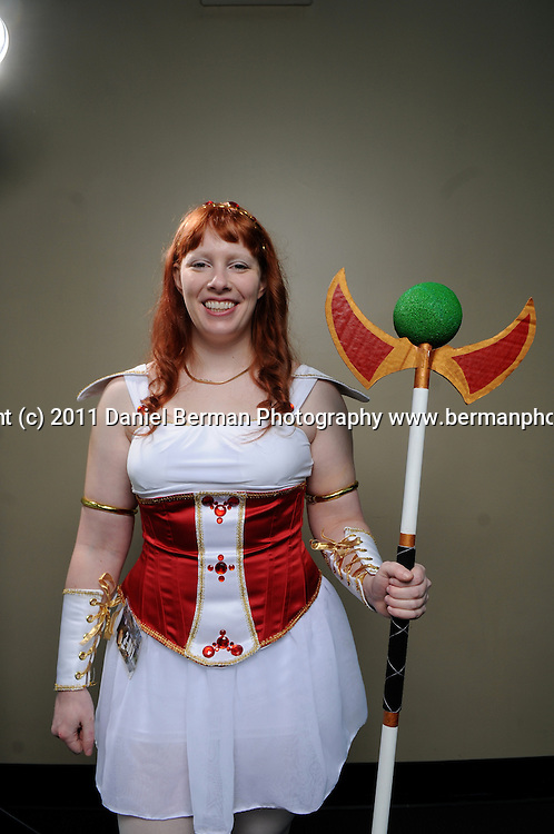 poses for a portrait at Emerald City Comicon at the Washington State Convention Center Saturday, March 5. Photo by Daniel Berman/www.bermanphotos.com