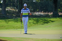 Rafael Cabrera Bello (ESP) acknowledges the gallery after barely missing his long birdie attempt on 1 during round 4 of the WGC FedEx St. Jude Invitational, TPC Southwind, Memphis, Tennessee, USA. 7/28/2019.<br /> Picture Ken Murray / Golffile.ie<br /> <br /> All photo usage must carry mandatory copyright credit (© Golffile | Ken Murray)