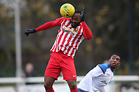 Jerson Dos Santos of Folkestone during Enfield Town vs Folkestone Invicta, BetVictor League Premier Division Football at the Queen Elizabeth II Stadium on 16th November 2019