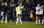 Billy Sharp of Sheffield United and David Brooks of Sheffield United at the end of the championship match at The Den Stadium, Millwall. Picture date 2nd December 2017. Picture credit should read: Robin Parker/Sportimage