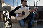 Playing the Oud - Rashidieh Camp