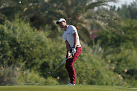 Thomas Detry (BEL) on the 7th during Round 2 of the Abu Dhabi HSBC Championship 2020 at the Abu Dhabi Golf Club, Abu Dhabi, United Arab Emirates. 17/01/2020<br /> Picture: Golffile   Thos Caffrey<br /> <br /> <br /> All photo usage must carry mandatory copyright credit (© Golffile   Thos Caffrey)