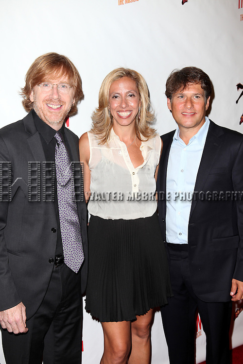 Trey Anastasio & Amanda Green.attending the Broadway Opening Night Performance of 'Bring it On The Musical' at the St. James Theatre in New York City on 8/1/2012 © Walter McBride / WM Photography