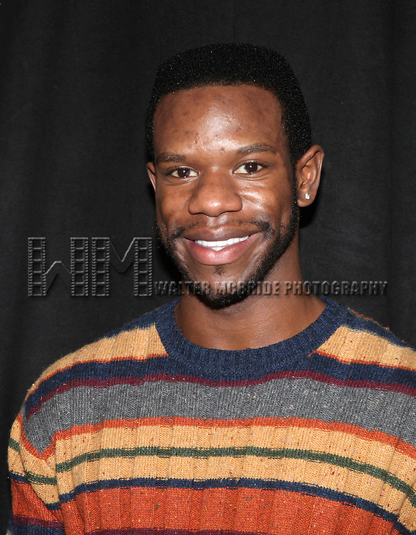Antwayn Hopper attending the Meet & Greet for the New York Theatre Workshop production of 'A Civil War Christmas' at their rehearsal studios on October 16, 2012 in New York City.