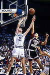 Bradley rebound vs. EK<br /> <br /> Basketball Cougar Classic vs Eastern Kentucky<br /> 45 Shawn Bradley<br /> <br /> Photo by Mark A. Philbrick/BYU<br /> <br /> Copyright BYU Photo 2012<br /> All Rights Reserved<br /> photo@byu.edu  (801)422-7322