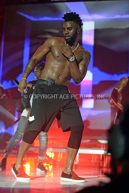WWW.ACEPIXS.COM<br /> <br /> May 21 2016, Miami<br /> <br /> Jason Derulo at the 2016 iHeartRadio Summer Pool Party at Fountainbleau Miami Beach on May 21, 2016 in Miami Beach, Florida.<br /> <br /> <br /> By Line: Solar/ACE Pictures<br /> <br /> <br /> ACE Pictures, Inc.<br /> tel: 646 769 0430<br /> Email: info@acepixs.com<br /> www.acepixs.com