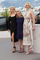 Nicole Kidman, Elisabeth Moss &amp; Gwendoline Christie at the photocall for &quot;Top of the Lake: China Girl&quot; at the 70th Festival de Cannes, Cannes, France. 23 May 2017<br /> Picture: Paul Smith/Featureflash/SilverHub 0208 004 5359 sales@silverhubmedia.com
