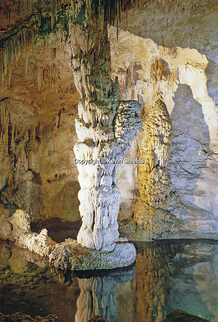Devils Spring in Carlsbad Caverns National Park, New Mexico, USA