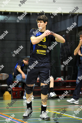 2012-10-13 / Volleybal / Seizoen 2012-2013 / Amigos Zoersel / Wouter Vriens..Foto: Mpics.be