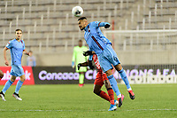 HARRISON, NJ - FEBRUARY 26: Alexander Callens #6 of NYCFC during a game between AD San Carlos and NYCFC at Red Bull on February 26, 2020 in Harrison, New Jersey.