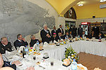 Palestinian President, Mahmoud Abbas (Abu Mazen) during participate in the 'Gala Dinner Birth' in the west bank city of Bethlehem, on Dec. 24, 2011. Photo by Thaer Ganaim