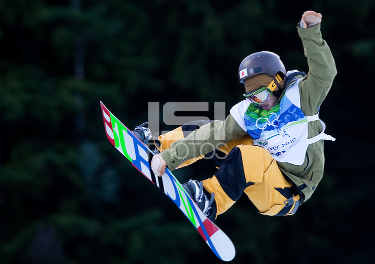Vancouver, British Columbia, Canada--Men's Snowboard, Cypress Mountain.