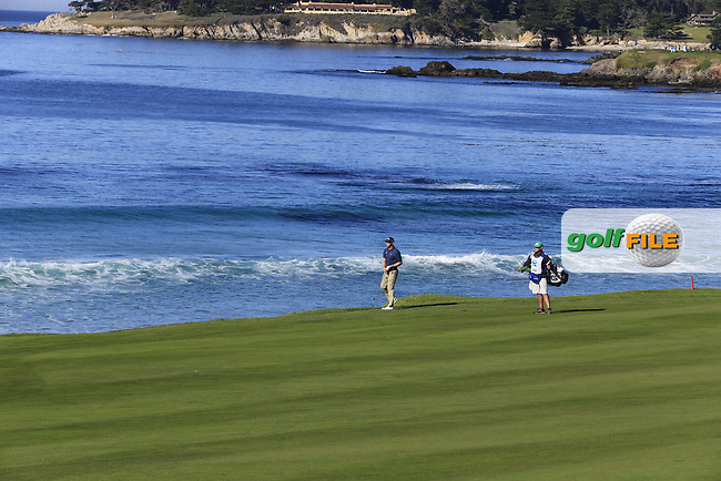 Seamus Power (IRL) on the 10th hole at Pebble Beach course during Friday's Round 2 of the 2018 AT&amp;T Pebble Beach Pro-Am, held over 3 courses Pebble Beach, Spyglass Hill and Monterey, California, USA. 9th February 2018.<br /> Picture: Eoin Clarke | Golffile<br /> <br /> <br /> All photos usage must carry mandatory copyright credit (&copy; Golffile | Eoin Clarke)