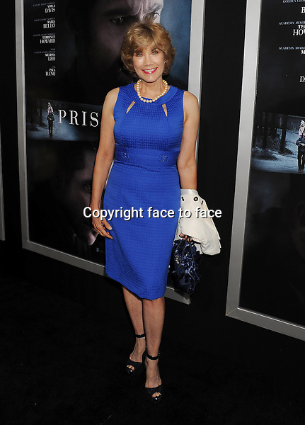 BEVERLY HILLS, CA- SEPTEMBER 12: Actress Barbi Benton arrives at the 'Prisoners' - Los Angeles Premiere at the Academy of Motion Picture Arts and Sciences on September 12, 2013 in Beverly Hills, California.<br />