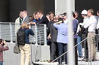CURITIBA, PR, 21.05.2014 -  VISITA FIFA / ARENA DA BAIXADA / CURITIBA - O secretário-geral da Fifa, Jérôme Valcke durante a visita da última vistoria antes de a entidade máxima do futebol assumir a propriedade temporária da Arena, na tarde desta quarta-feira (21). O Estádio da Arena da baixada receberá 4 jogos pela copa do Mundo FIFA 2014.  (Foto: Paulo Lisboa / Brazil Photo Press)