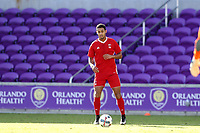 Orlando, Florida - Monday January 15, 2018: Alex Bumpus. Match Day 2 of the 2018 adidas MLS Player Combine was held Orlando City Stadium.