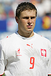 12 July 2007: Patryk Malecki. Argentina's Under-20 Men's National Team defeated Poland's Under-20 Men's National Team 3-1 in a  round of 16 match at the National Soccer Stadium (also known as BMO Field) in Toronto, Ontario, Canada during the FIFA U-20 World Cup Canada 2007 tournament.