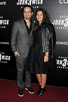 "Lin-Manuel Miranda and Vanessa Nadal at the World Premiere of ""John Wick: Chapter 3 Parabellum"", held at One Hanson in Brooklyn, New York, USA, 09 May 2019"
