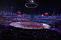 OLYMPIC GAMES: PYEONGCHANG: 09-02-2018, PyeongChang Olympic Stadium, Olympic Games, Opening Ceremony, Entrance Norway, ©photo Martin de Jong