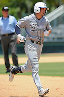 5 June 2010:  FIU's Yoandy Barroso (38) runs the bases after hitting a home run in the fifth inning as the Dartmouth Green Wave defeated the FIU Golden Panthers, 15-9, in Game 3 of the 2010 NCAA Coral Gables Regional at Alex Rodriguez Park in Coral Gables, Florida.