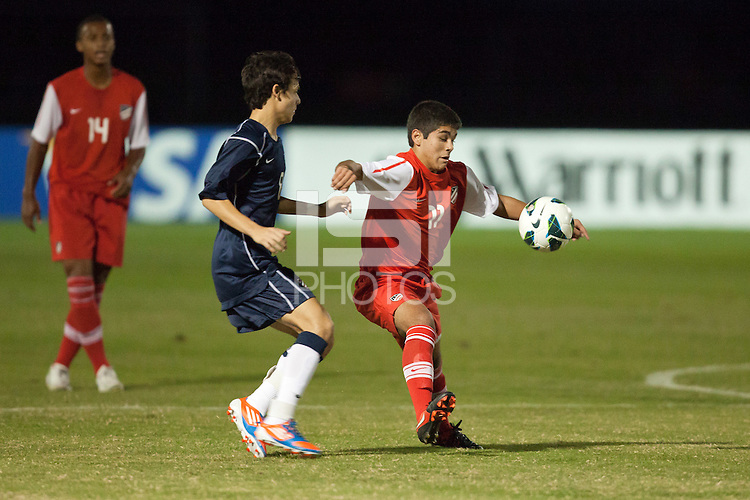 Academy Select U-17/18 Blue Team Defeats Red Team at the 2012 Development Academy Winter Showcase