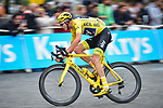 Yellow Jersey Chris Froome (GBR) Team Sky on the Champs-Elysees during Stage 21 of the 104th edition of the Tour de France 2017, an individual time trial running 1.3km from Montgeron to Paris Champs-Elysees, France. 23rd July 2017.<br /> Picture: ASO/Pauline Ballet | Cyclefile<br /> <br /> <br /> All photos usage must carry mandatory copyright credit (&copy; Cyclefile | ASO/Pauline Ballet)