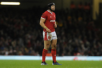 Wales Leigh Halfpenny during the game <br /> <br /> Photographer Ian Cook/CameraSport<br /> <br /> 2019 Autumn Internationals - Wales v Barbarians - Saturday 30th November 2019 - Principality Stadium - Cardifff<br /> <br /> World Copyright © 2019 CameraSport. All rights reserved. 43 Linden Ave. Countesthorpe. Leicester. England. LE8 5PG - Tel: +44 (0) 116 277 4147 - admin@camerasport.com - www.camerasport.com