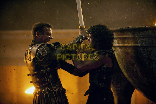 Kiefer Sutherland, Kit Harington<br /> in Pompeii (2014) <br /> *Filmstill - Editorial Use Only*<br /> CAP/FB<br /> Image supplied by Capital Pictures