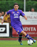 "Riccardo MONTOLIVO (Fiorentina).Fiorentina Vs Gavorrano.Football Calcio gara amichevole 2011/2012.San Piero a Sieve 3/8/2011 Centro Sportivo ""San Piero a Sieve"".Foto Insidefoto Alessandro Sabattini"