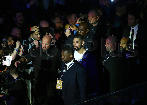March 4th 2017, O2 Arena, London England; Heavyweight Boxing David Haye versus Tony Bellew; Tony Bellew makes his way to the ring for his Heavyweight contest fight with David Haye