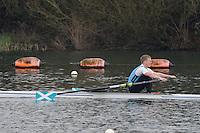 Caversham. Berkshire. UK<br /> Gregor MAXWELL<br /> 2016 GBRowing U23 Trials at the GBRowing Training base near Reading, Berkshire.<br /> <br /> Monday  11/04/2016 <br /> <br /> [Mandatory Credit; Peter SPURRIER/Intersport-images]