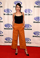 """ANAHEIM, CA - MARCH 29: Amber Midthunder, cast member of FX's """"Legion"""" attends WonderCon 2019 at the Anaheim Convention Center on March 29, 2019 in Anaheim, California. (Photo by Frank Micelotta/FX/PictureGroup)"""