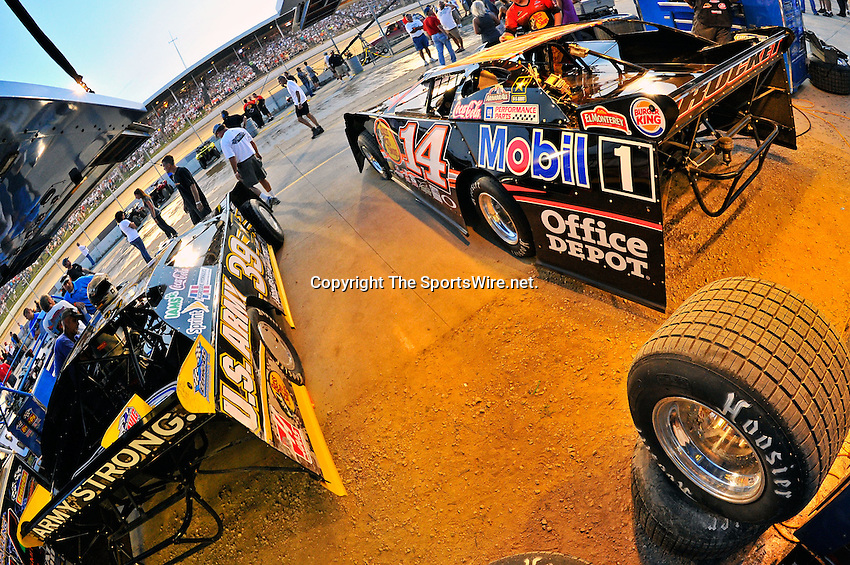 Jun 8, 2011; 9:15:57 PM; Rossburg, OH., USA; The 7th running of the Gillette Fusion ProGlide Prelude to the Dream  Dirt Late Models at the Eldora Speedway.  Mandatory Credit: (thesportswire.net)