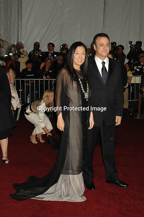 Vera Wang and husband Arthur Becker..arriving at The Metropolitan Museum of Art's Costume Institute Gala on May 7, 2007 in New York City. The Gala celebrates the exhibition: Poiret: King of Fashion..Robin Platzer, Twin Images......212-935-0770