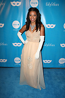 LOS ANGELES, CA - OCTOBER 27: Angel Parker, at UNICEF Next Generation Masquerade Ball Los Angeles 2017 At Clifton's Republic in Los Angeles, California on October 27, 2017. Credit: Faye Sadou/MediaPunch /NortePhoto.com