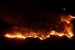 Sylmar Fire which started near Veterans Park in Sylmar.15 November 2008