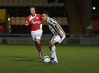 Dougie Imrie in the St Mirren v Brechin City William Hill Scottish Cup Round 4 match played at St Mirren Park, Paisley on 1.12.12.