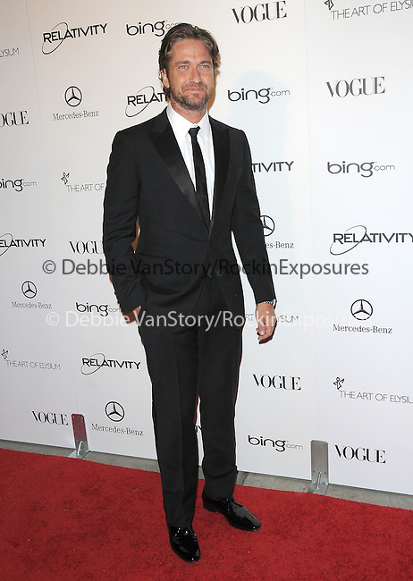 "Gerard Butler attends the Art of Elysium 4th Annual Charity Gala ""Heaven"" held at The Annenberg Building at The California Science Center in Los Angeles, California on January 15,2011                                                                               © 2010 DVS / Hollywood Press Agency"