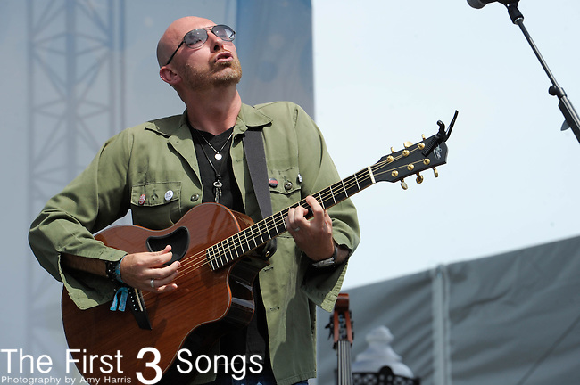 Corey Smith performs at the Riverfront Stage during the 2012 CMA Music Festival in Nashville, Tennessee.